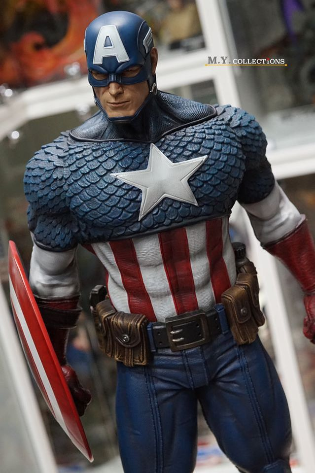 Premium Collectibles : Captain America 1/3 103563317_40097461457m8khg