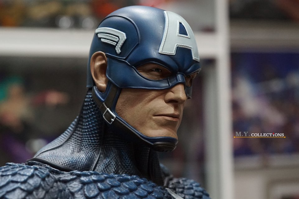 Premium Collectibles : Captain America 1/3 103567659_4009747945760jbk