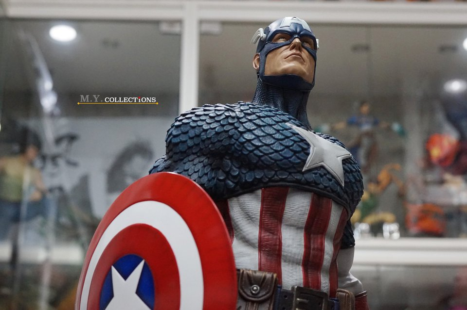 Premium Collectibles : Captain America 1/3 103594047_400974649907ekja