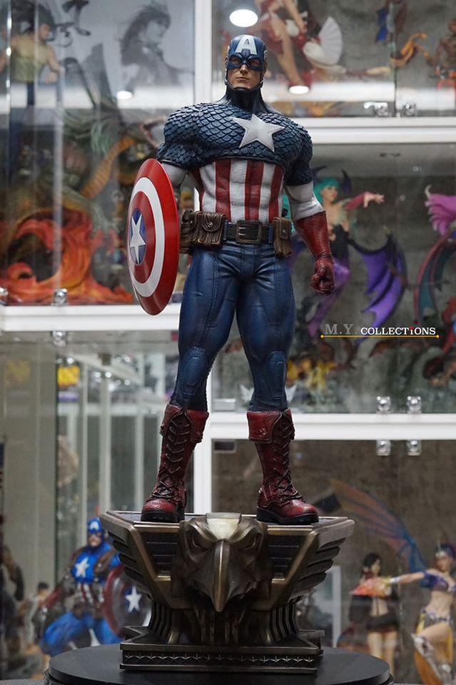 Premium Collectibles : Captain America 1/3 103609749_40097457657bsk64
