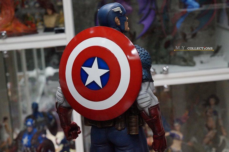Premium Collectibles : Captain America 1/3 103688077_4009747405792kvq