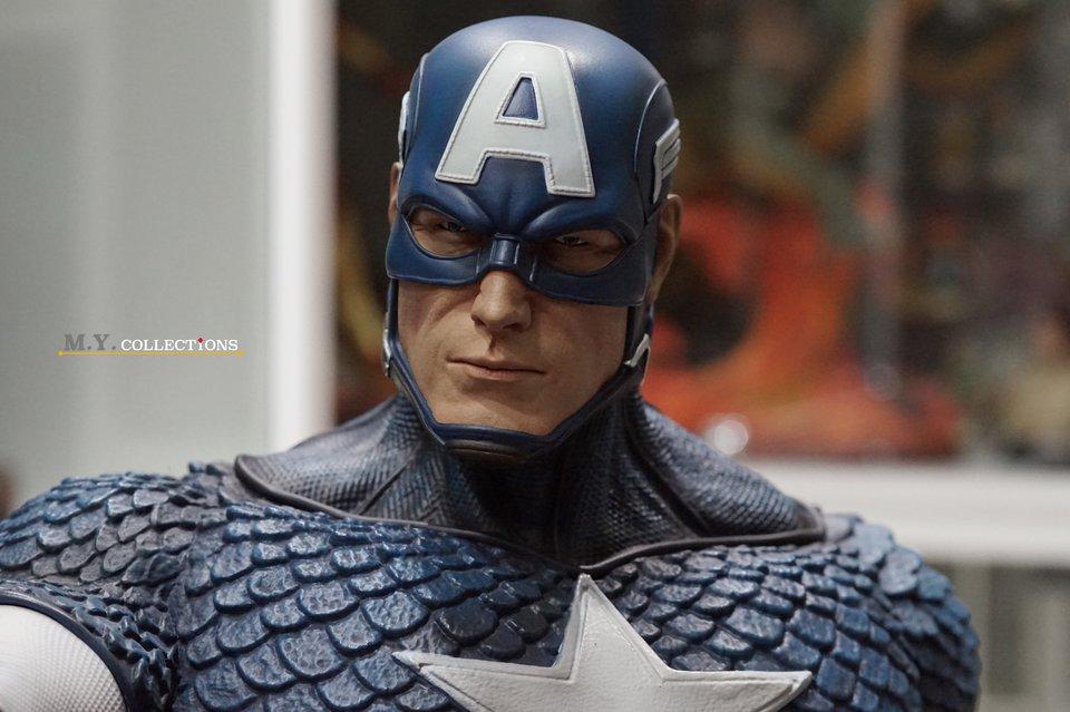 Premium Collectibles : Captain America 1/3 103700094_400974792901mkei