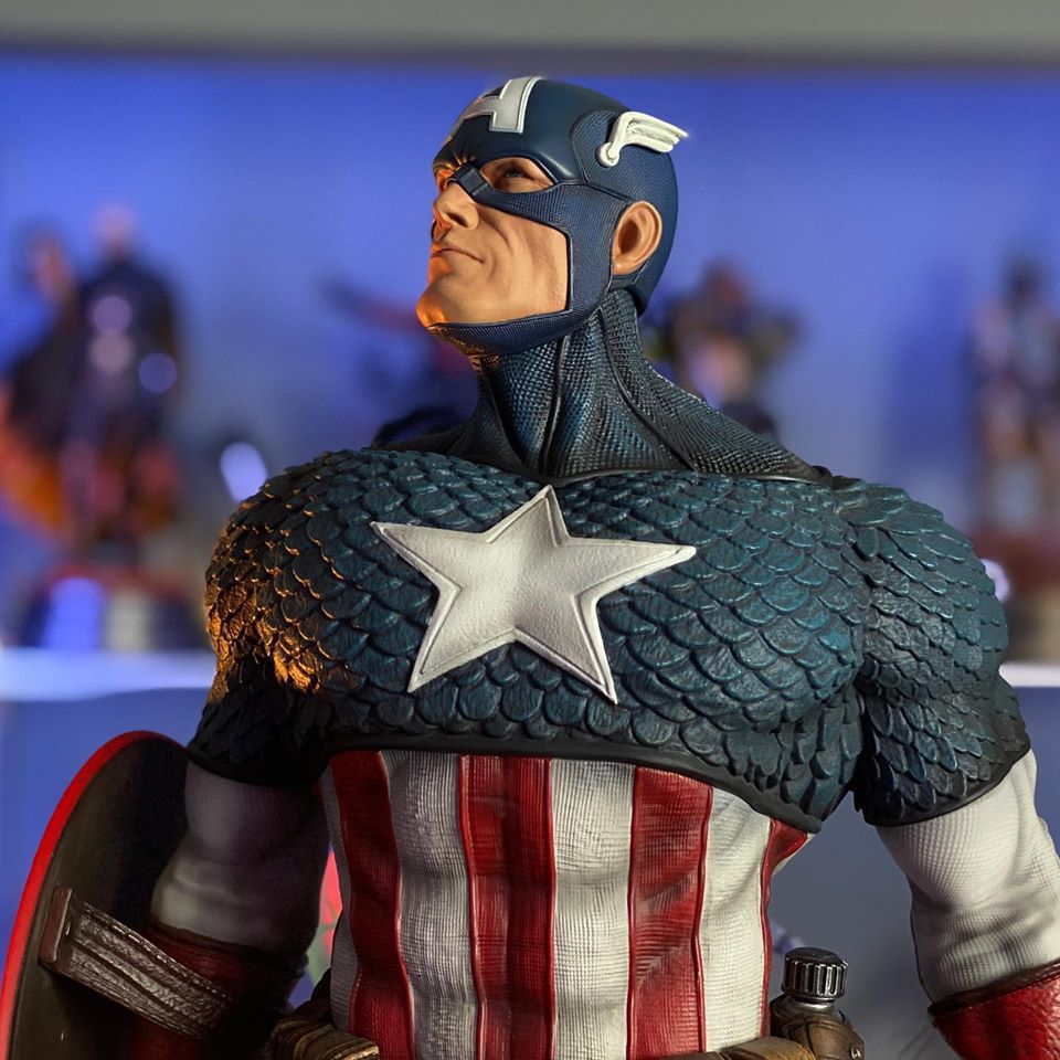 Premium Collectibles : Captain America 1/3 103763389_10157342836d3jzg