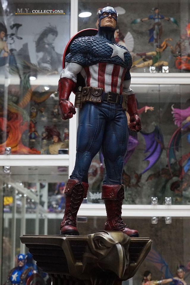 Premium Collectibles : Captain America 1/3 103817071_40097489190qskmc
