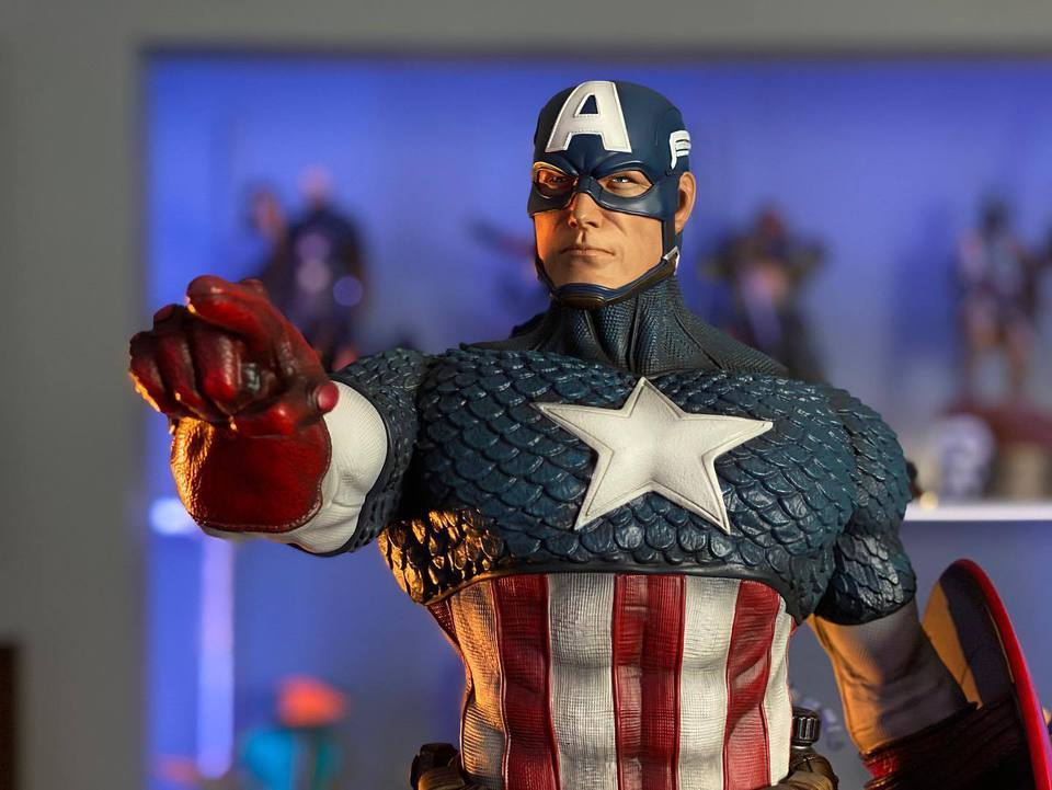 Premium Collectibles : Captain America 1/3 103966715_23247075945zhjma