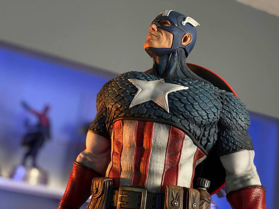 Premium Collectibles : Captain America 1/3 103967858_23247072311kbjxd