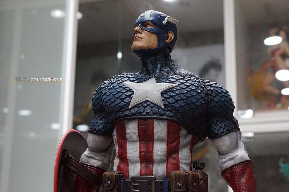 Premium Collectibles : Captain America 1/3 103969276_400974699902pj10