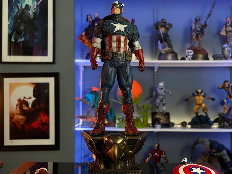Premium Collectibles : Captain America 1/3 103983528_23247073011j0k9y