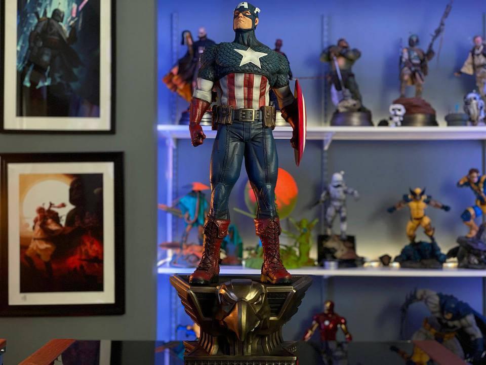 Premium Collectibles : Captain America 1/3 103996005_23247074178y4k2k