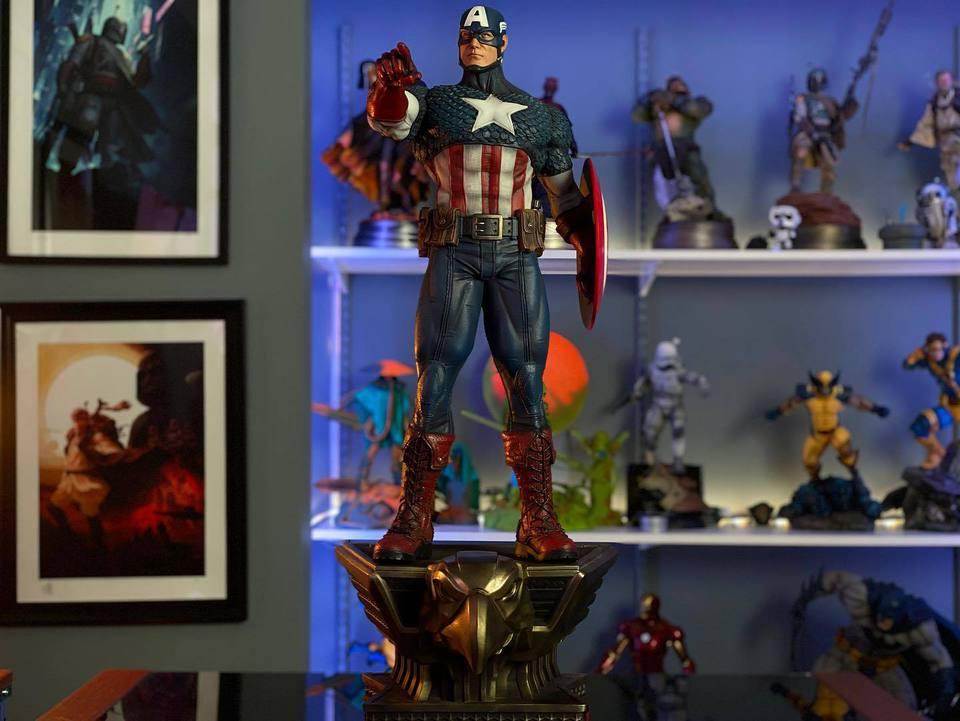 Premium Collectibles : Captain America 1/3 104001797_23247073578w1kfg