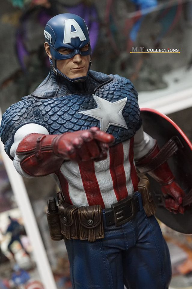 Premium Collectibles : Captain America 1/3 104344831_40097476257mzjtb