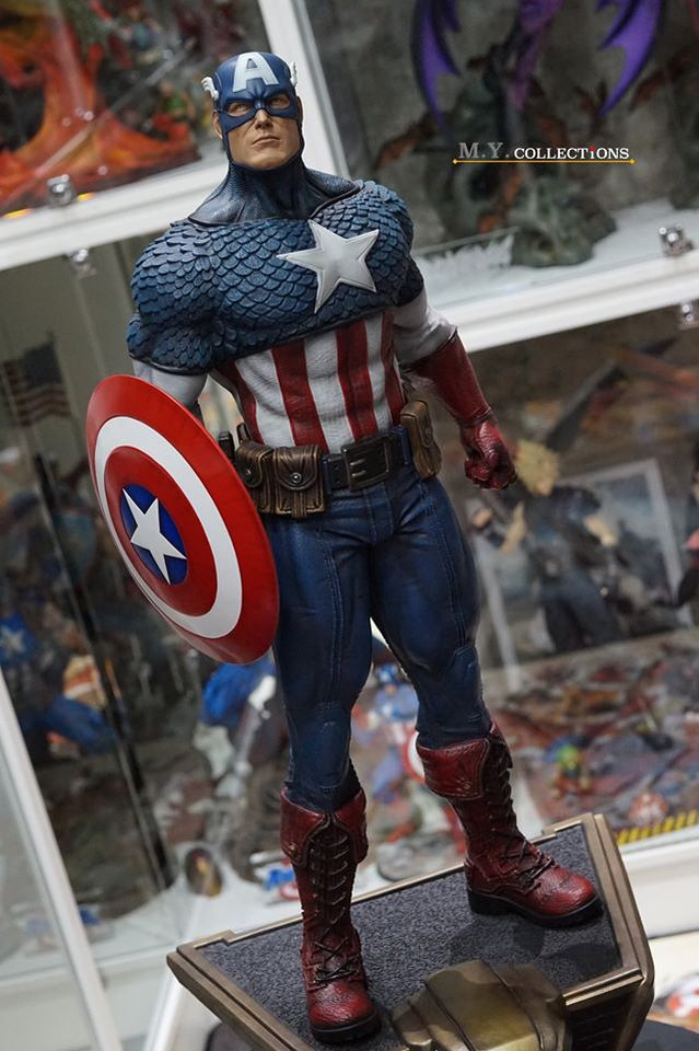 Premium Collectibles : Captain America 1/3 104401202_40097484190a1jg7