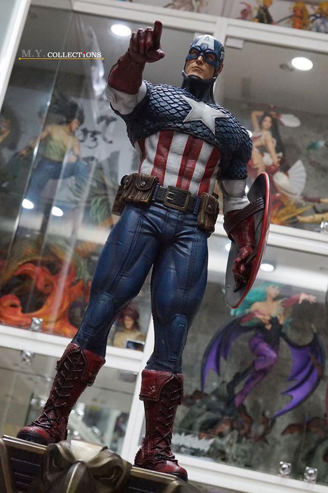 Premium Collectibles : Captain America 1/3 104428971_40097489690g3jzo