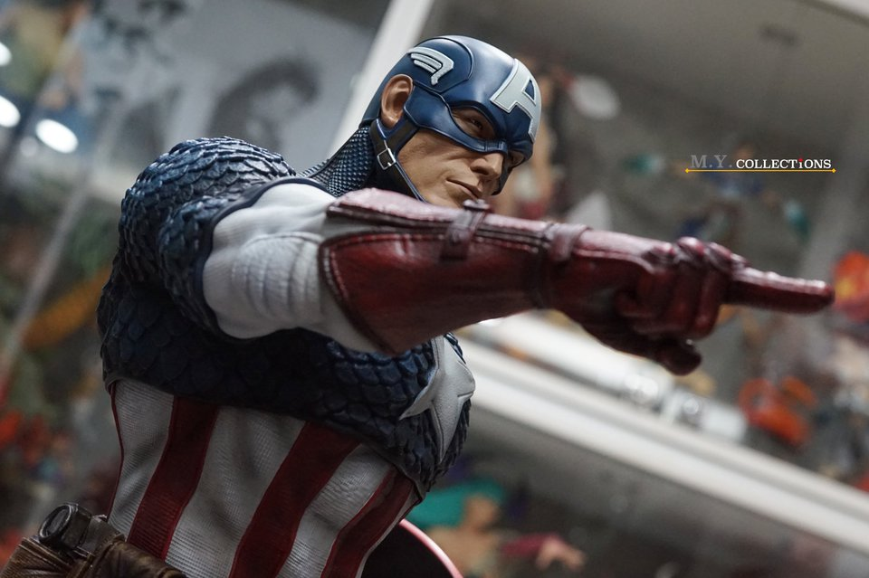 Premium Collectibles : Captain America 1/3 104438664_40097482090tsjoh