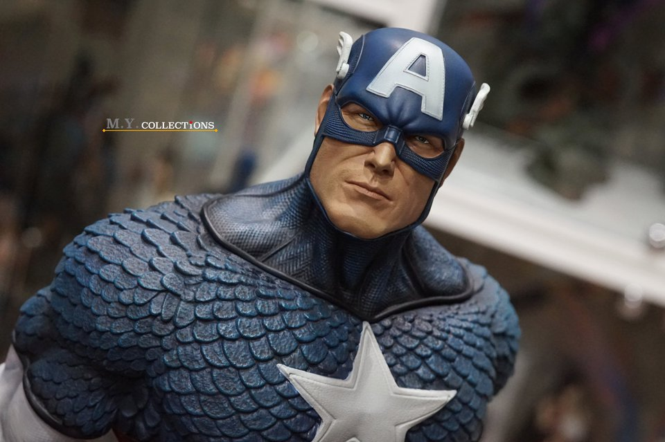 Premium Collectibles : Captain America 1/3 104486961_40097467790zjkoc