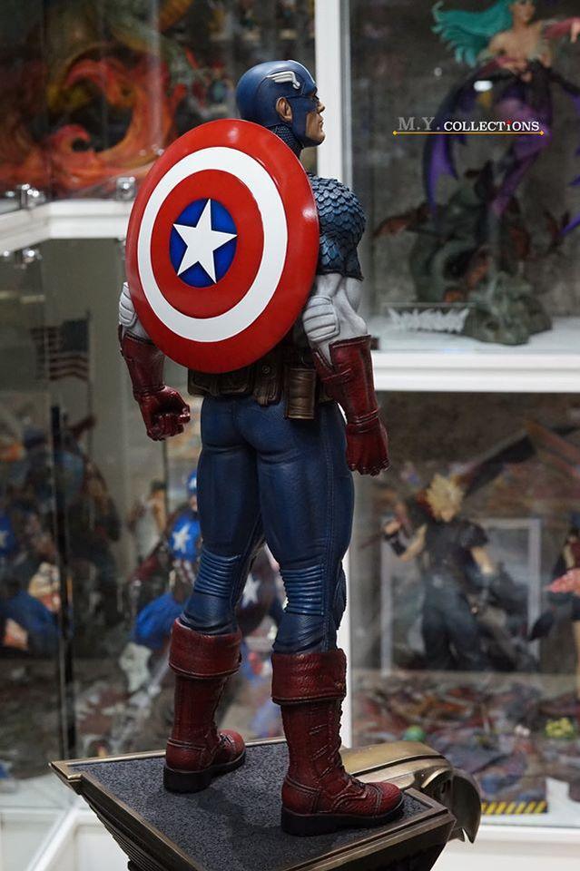 Premium Collectibles : Captain America 1/3 104663198_40097486724p0k2h