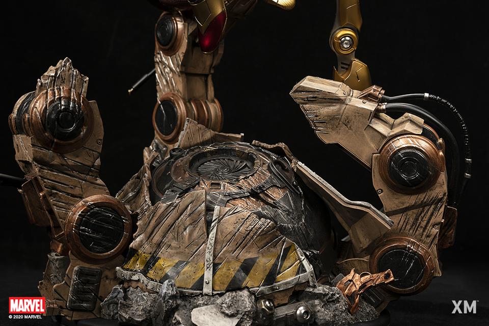 Premium Collectibles : Iron-spiderman** 105ikt2