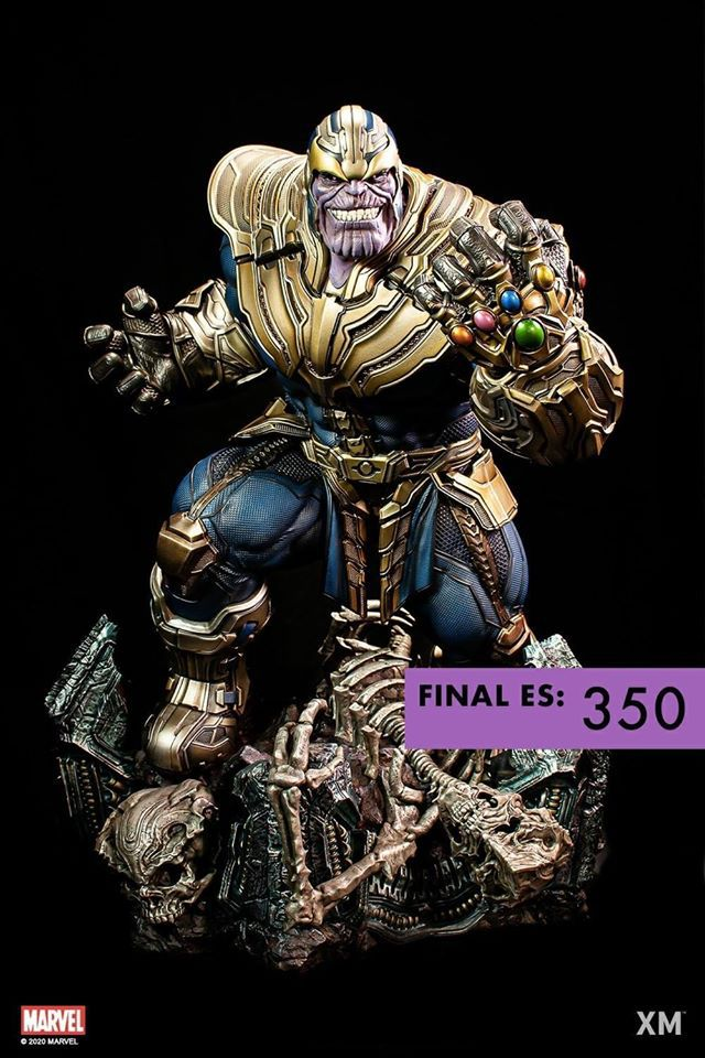 Premium Collectibles : Thanos (Stand alone) 107475273_26399543662axksn