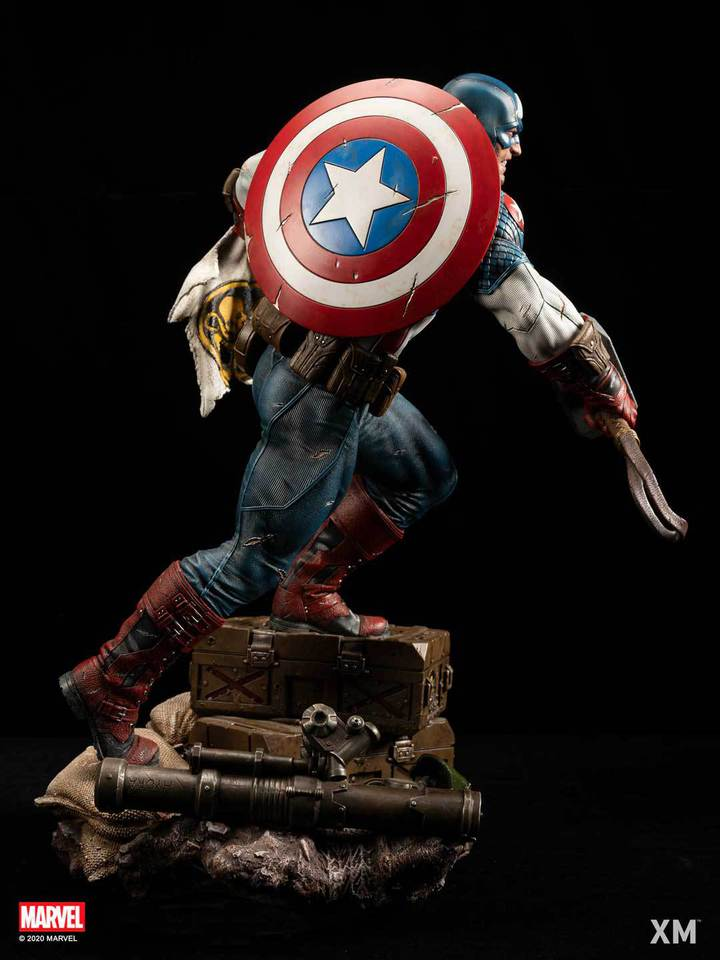 Premium Collectibles : Captain America Ultimate 1/4 Statue 107fkte