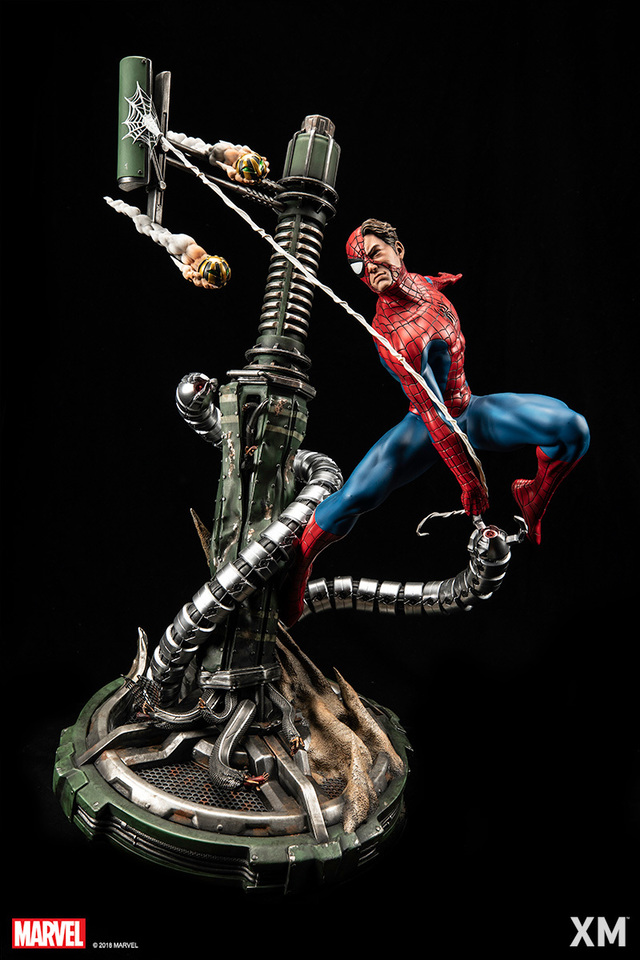 Premium Collectibles : Spiderman** 10gxkwv