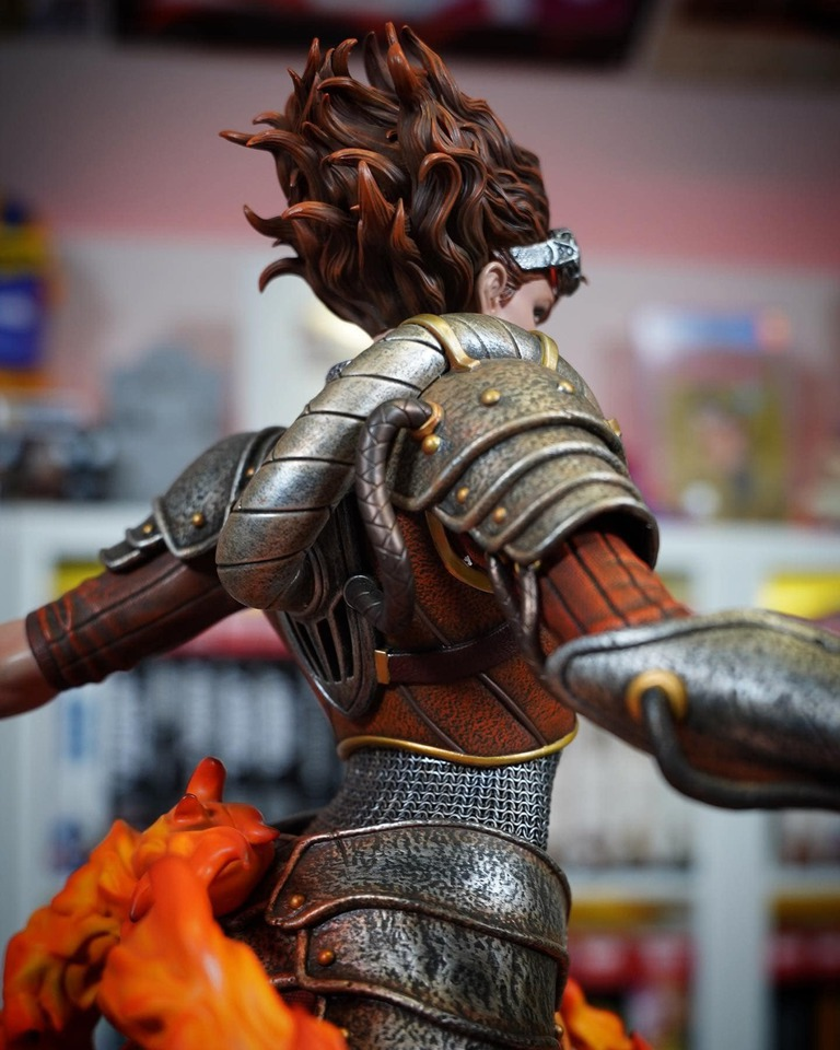 Premium Collectibles : MTG - Chandra Nalaar 1/4 Statue 10i3ktd