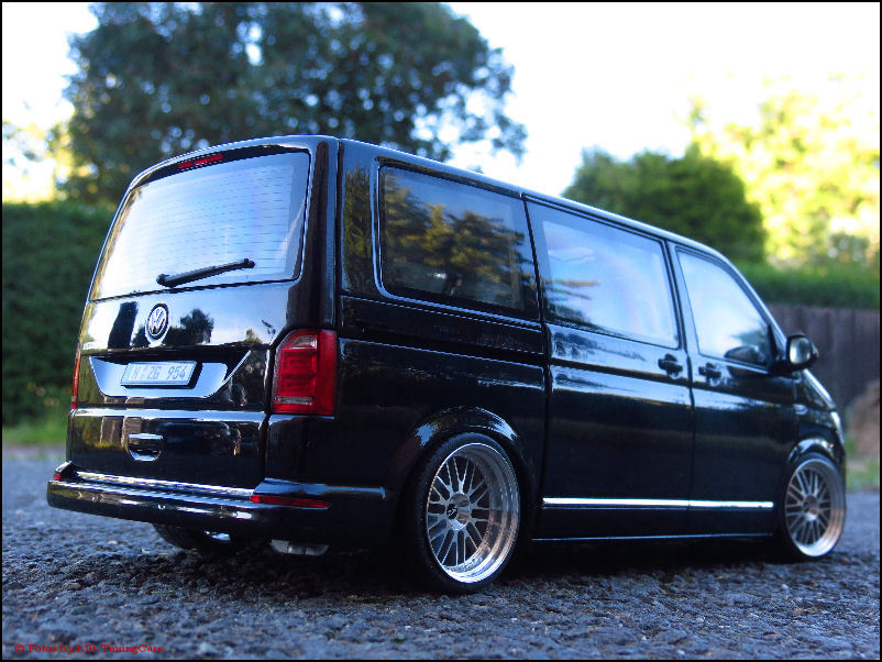 1 18 tuning volkswagen vw t6 multivan highline with bbs. Black Bedroom Furniture Sets. Home Design Ideas