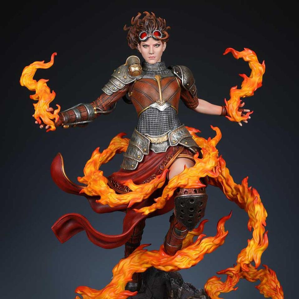 Premium Collectibles : MTG - Chandra Nalaar 1/4 Statue 10qj5o