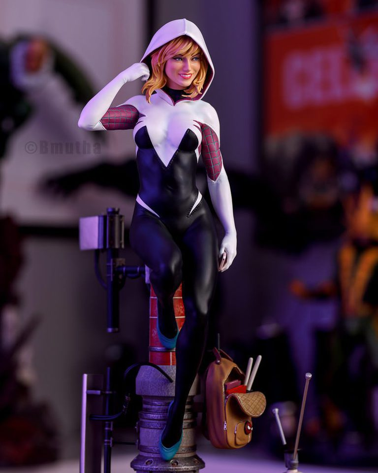 Premium Collectibles : Spider-Gwen 10rfrj4