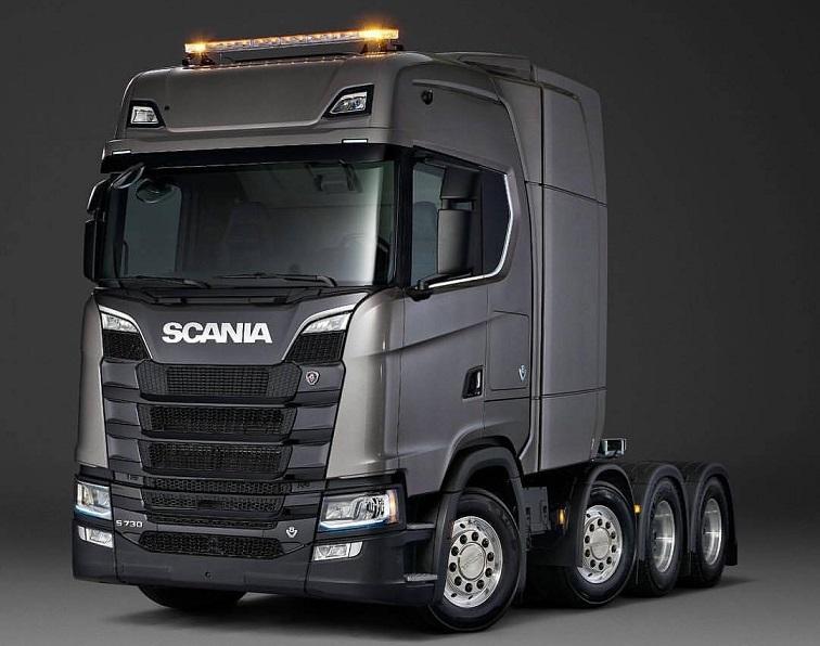 SCANIA S730 8x4 10xsya