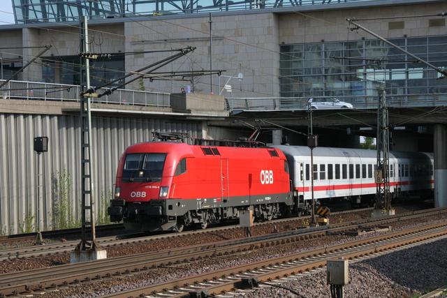 1116 205-4 Ausfahrt Hannover MesseLaatzen