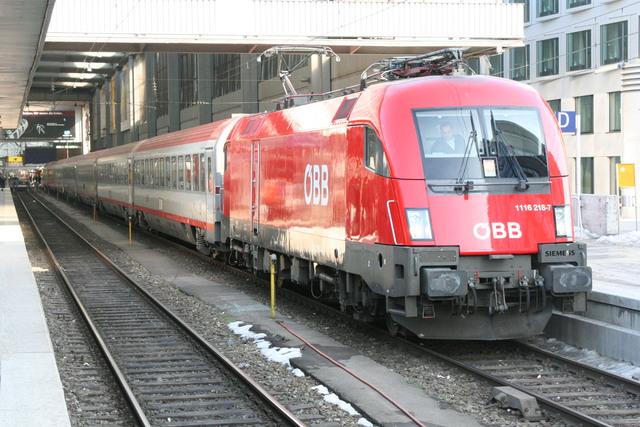 1116 218-7 München Hbf