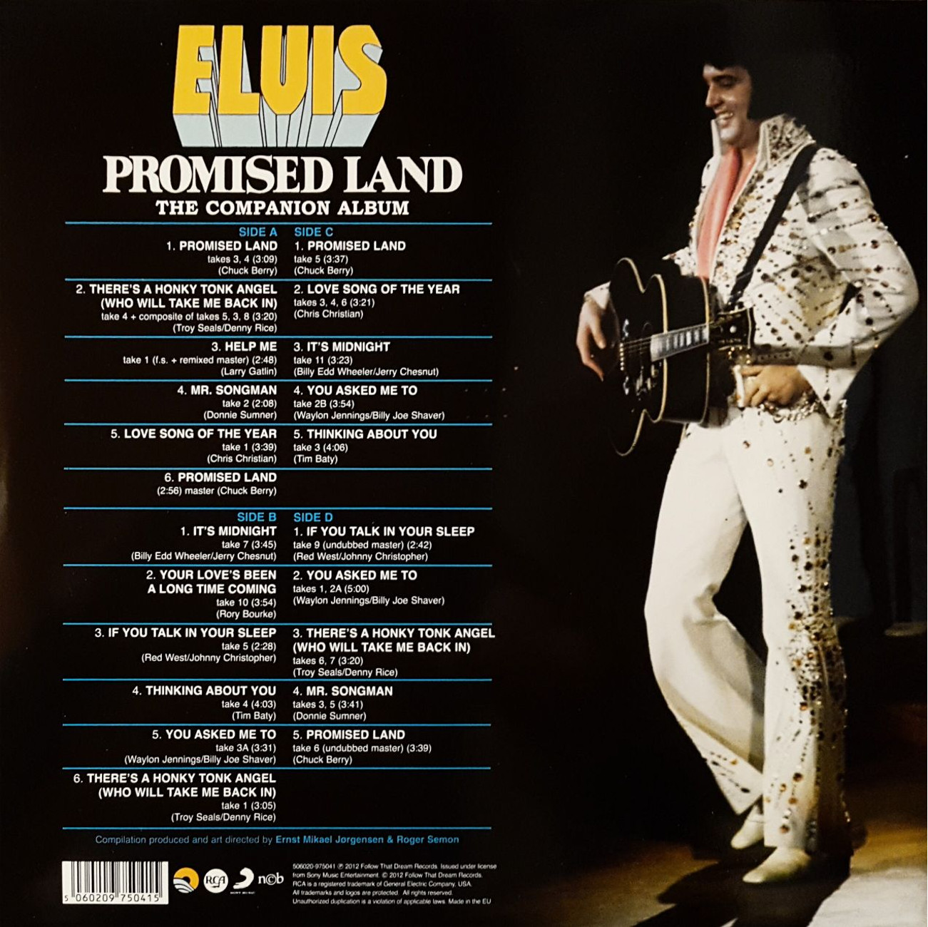 PROMISED LAND - THE COMPANION ALBUM 111nbuud
