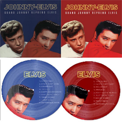 JOHNNY AND ELVIS - QUAND JOHNNY REPREND ELVIS 11334l3u
