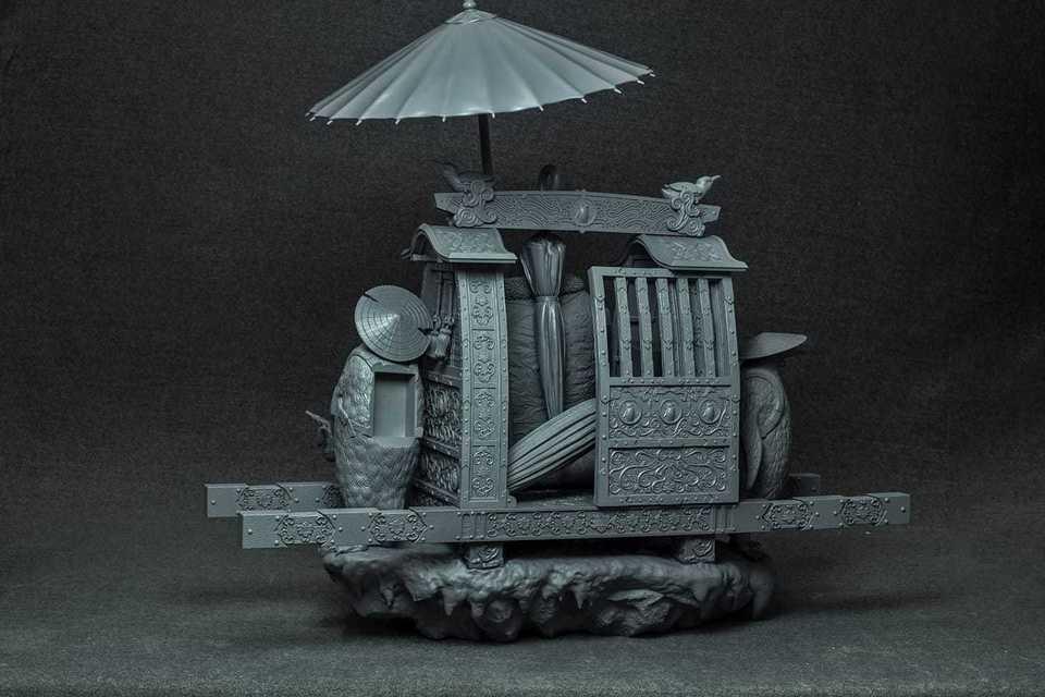 Samurai Series : Penguin 118309934_284041066293uk1v