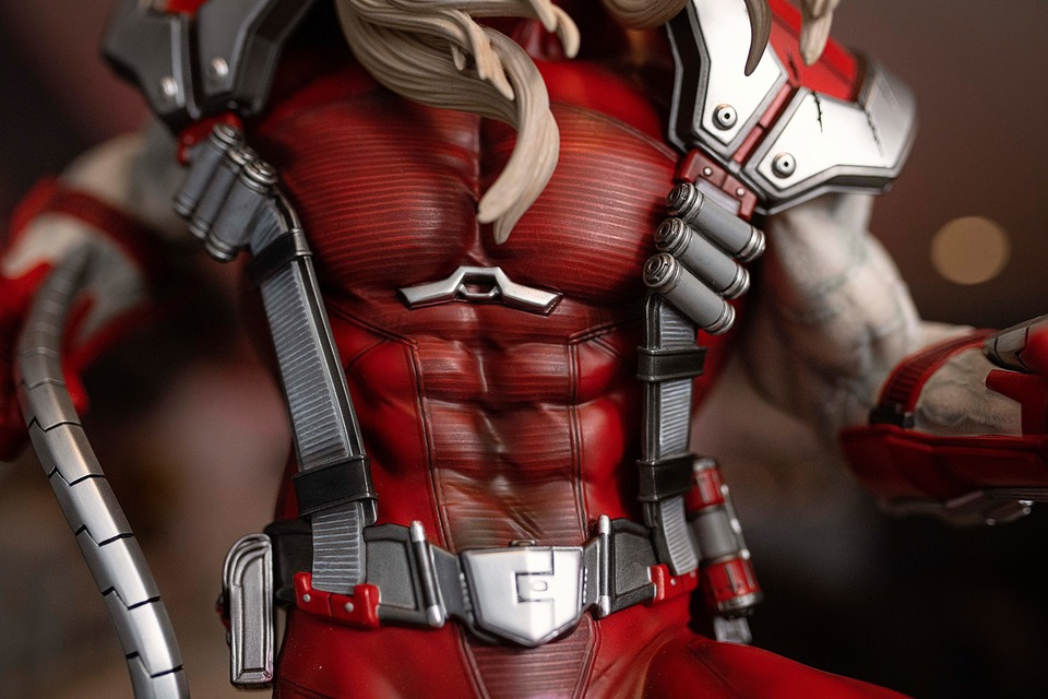 Premium Collectibles : Omega Red - Comics version** 118361590_10157124175kukqs