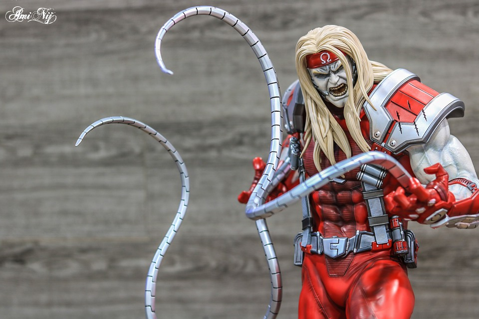 Premium Collectibles : Omega Red - Comics version** 118707700_17163166551hlkp7