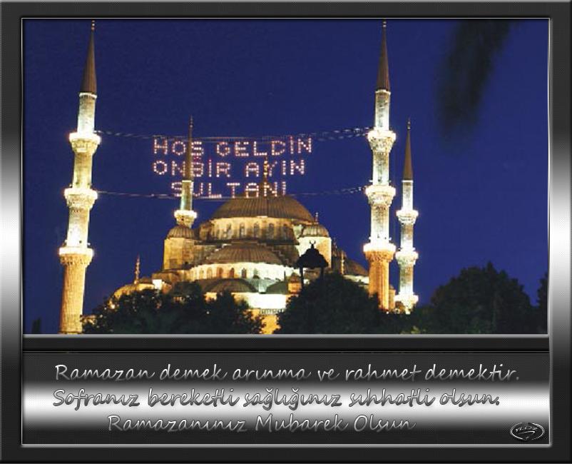 Ramazanınız Mubarek Olsun