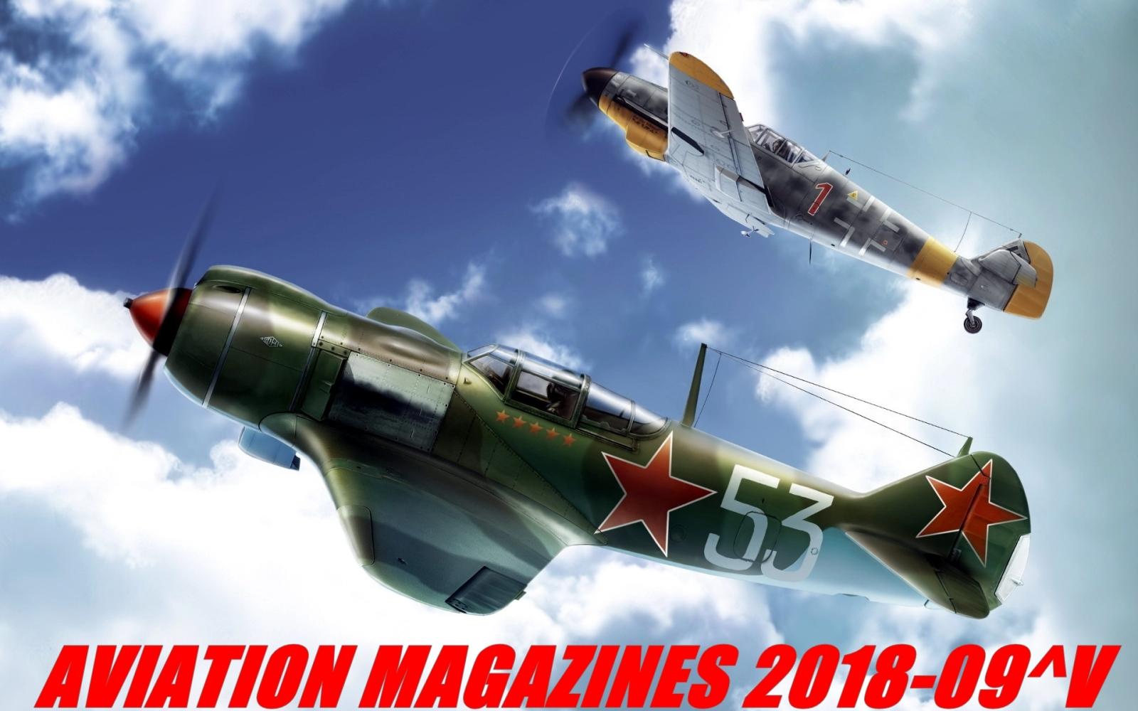Aviation magazines 2018-09