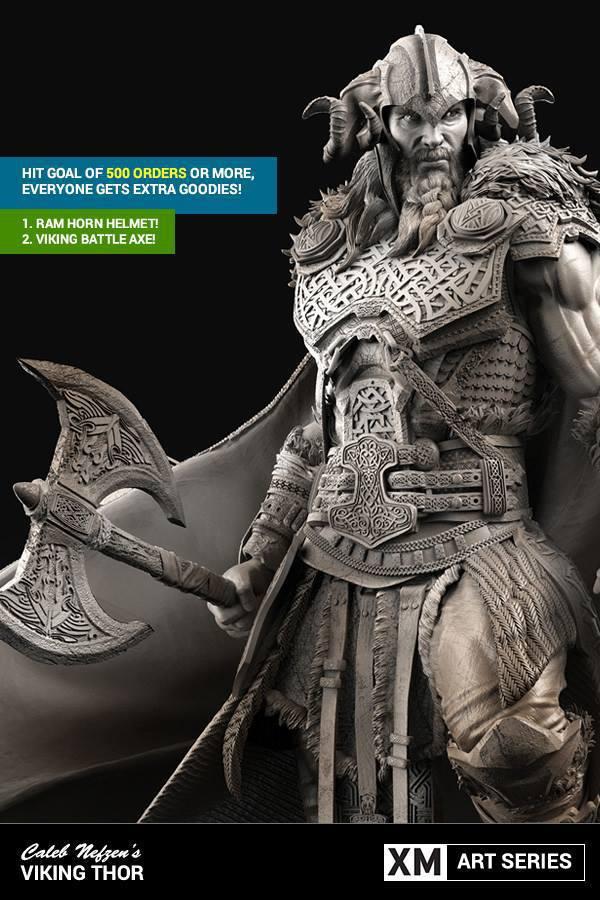 Premium Collectibles : Thor by Caleb Nefzen** 11u9syz