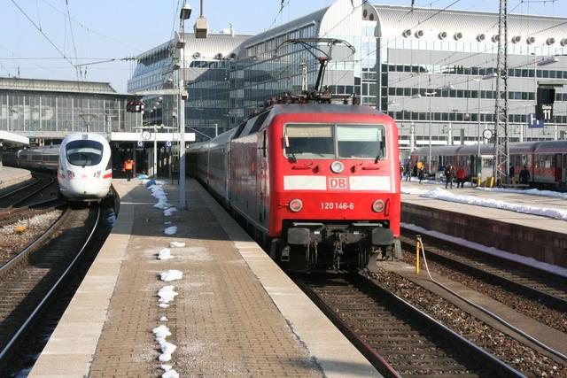 120 146-6 München Hbf