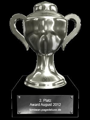 PDL Award 08/2012