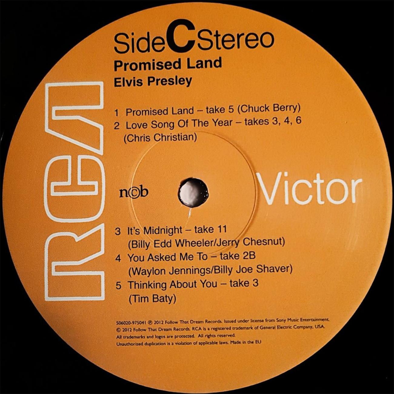 PROMISED LAND - THE COMPANION ALBUM 120vtupz