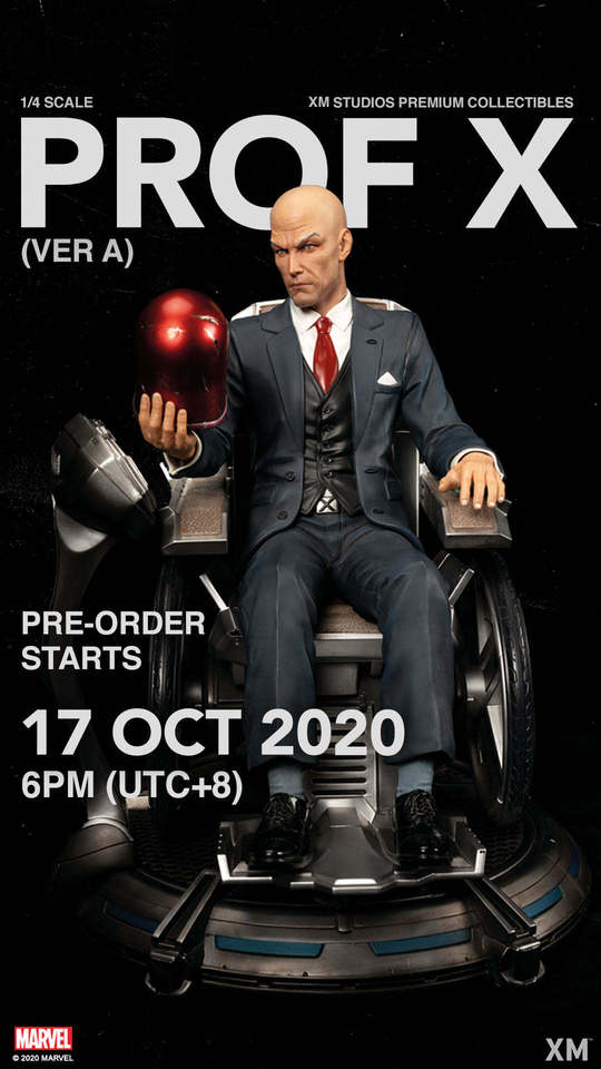 Premium Collectibles : Professor X** 121111082_27244463511alkpa