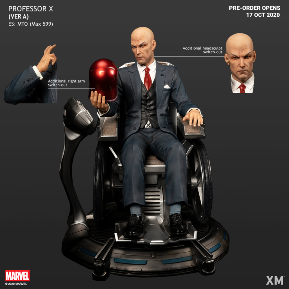 Premium Collectibles : Professor X** 121164295_27264906009nsk9l