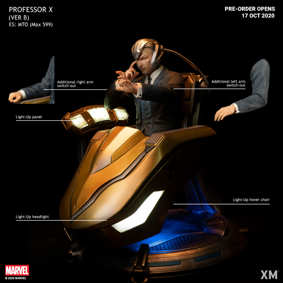 Premium Collectibles : Professor X** 121304927_27264918375x5knv