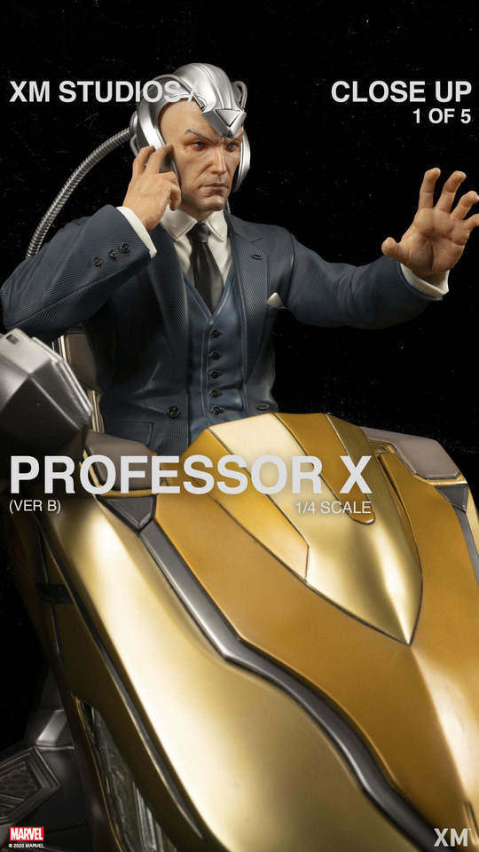 Premium Collectibles : Professor X** 121536588_272445270441rkfc