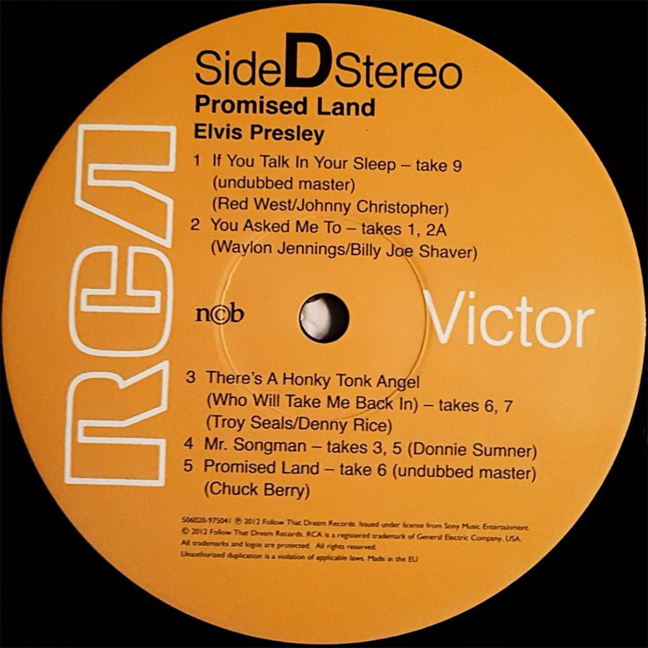 PROMISED LAND - THE COMPANION ALBUM 121cfuot