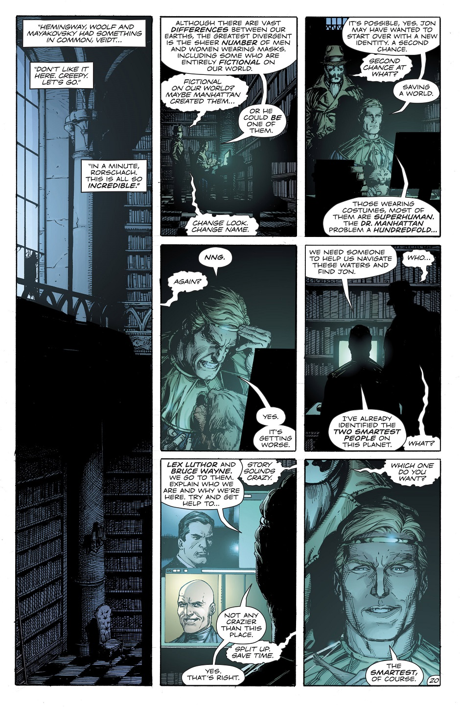 Doomsday Clock 2 Scans Daily
