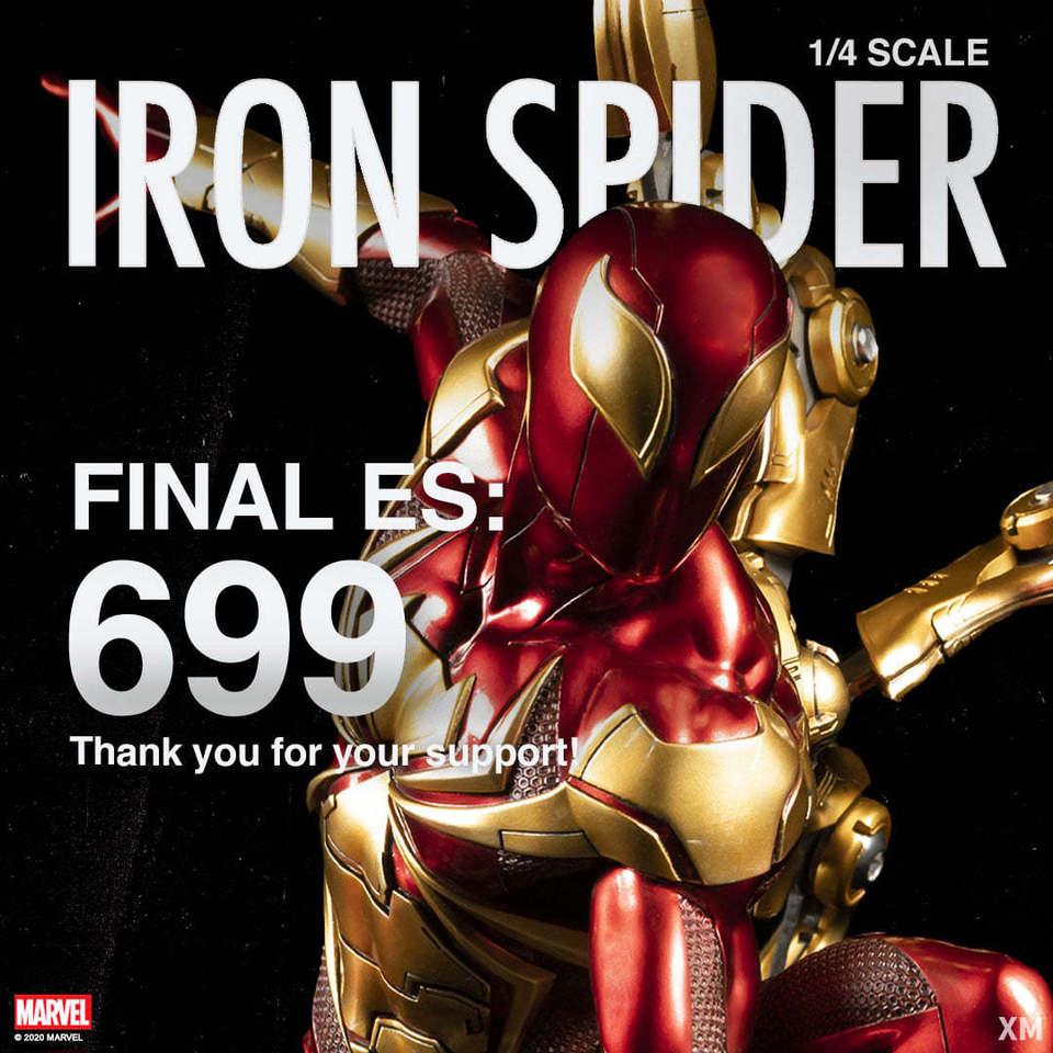 Premium Collectibles : Iron-spiderman** 123796802_274837190538ske4