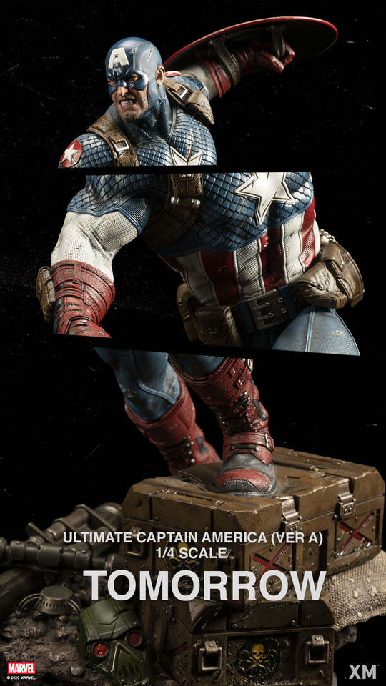 Premium Collectibles : Captain America Ultimate 1/4 Statue 129566298_276961737653vkfq